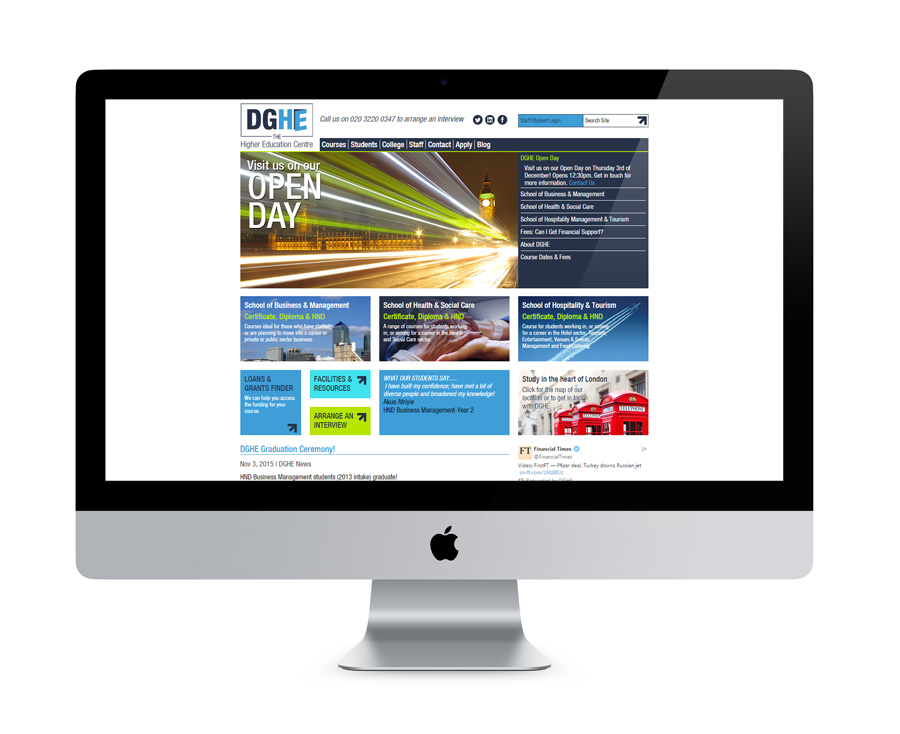DGHE Logo and Branding Design