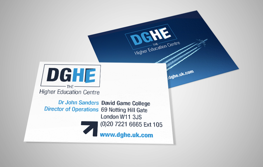 DGHE Business Card Design