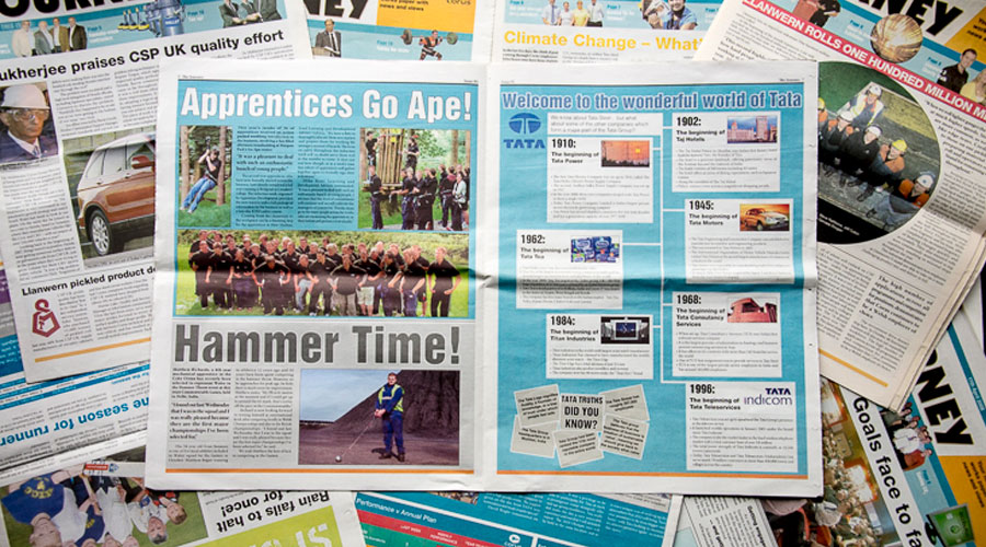 tata steel and corus journey newspapers