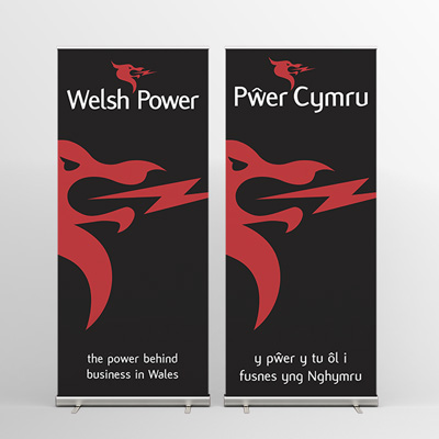 welsh power banner designs