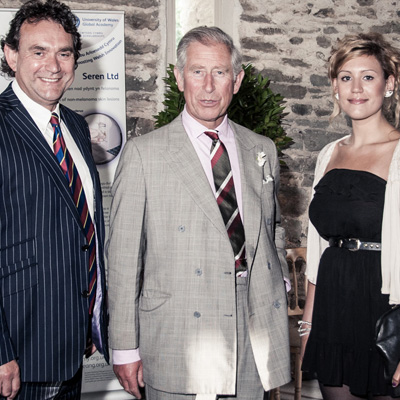 Prince Charles for University of Wales