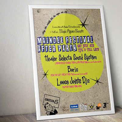 Maindee Festival Poster