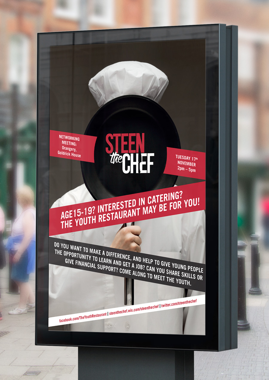 Steen the Chef Poster