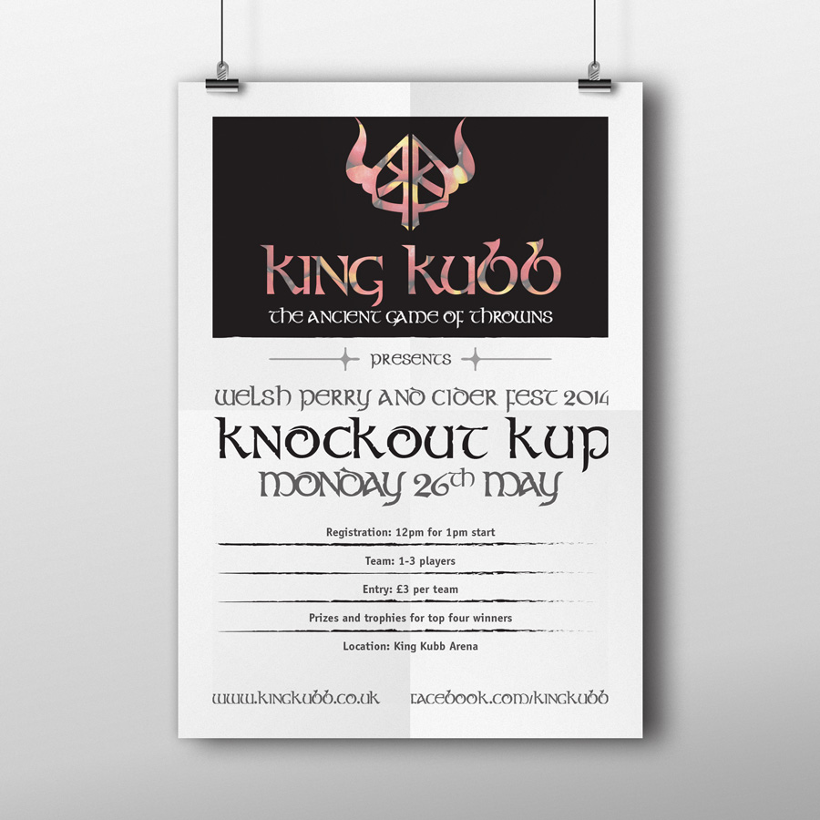 King Kubb Logo and Branding Design