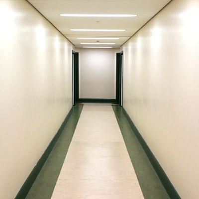 The bare dance drama corridor