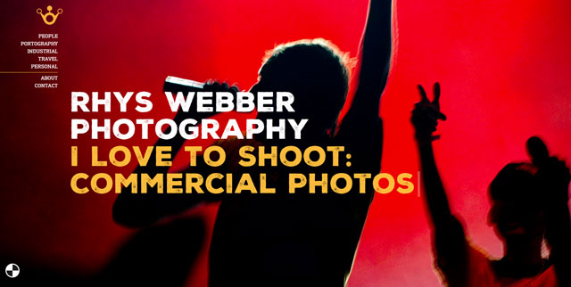 Webber Photo Web Design Case Study