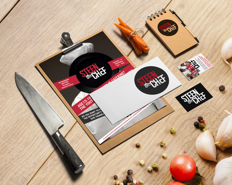 Steen the Chef Stationary Design
